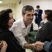 Representative Beto O'Rourke greeting supporters last month in Lufkin, Tex.