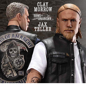 SONS OF ANARCHY 1/6 SCALE FIGURES