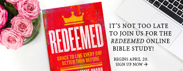 It's Not Too Late to Join the Redeemed Online Bible Study