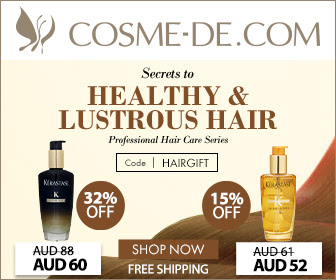 [Code: HAIRGIFT]Professional Hair Care Series.Secrets to Healthy & Lustrous Hair Limited time offer!*Purchase Haircare products over AUD69 to get a free RENE FURTERER Forticea Stimulating Shampoo 50ml! Shop Now!