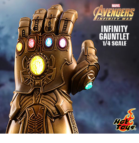 HOT TOYS MARVEL 1/4 SCALE INFINITY GAUNTLET