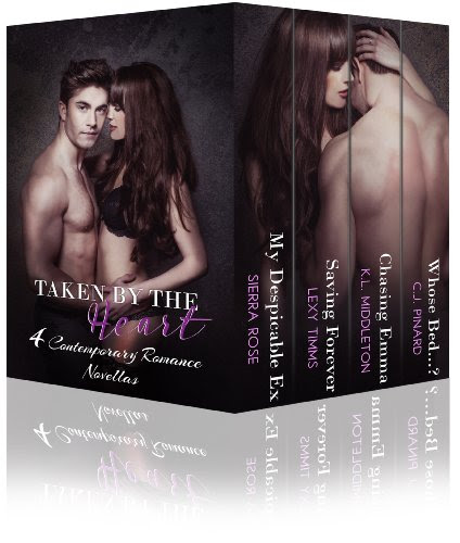 Cover for 'Taken by the Heart (4 Contemporary Romance Novellas)'