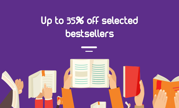 Save up to 35% off on selected bestsellers + free shipping worldwide at Book Depository.