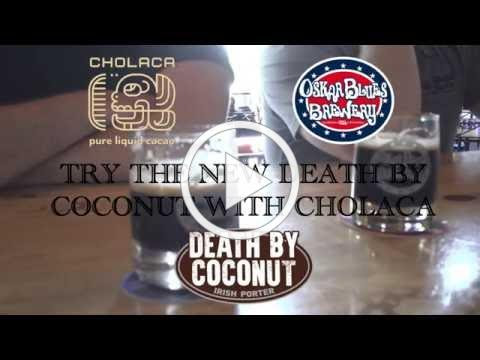 """""""Behind the Brew"""" with Cholaca at Oskar Blues Brewery"""