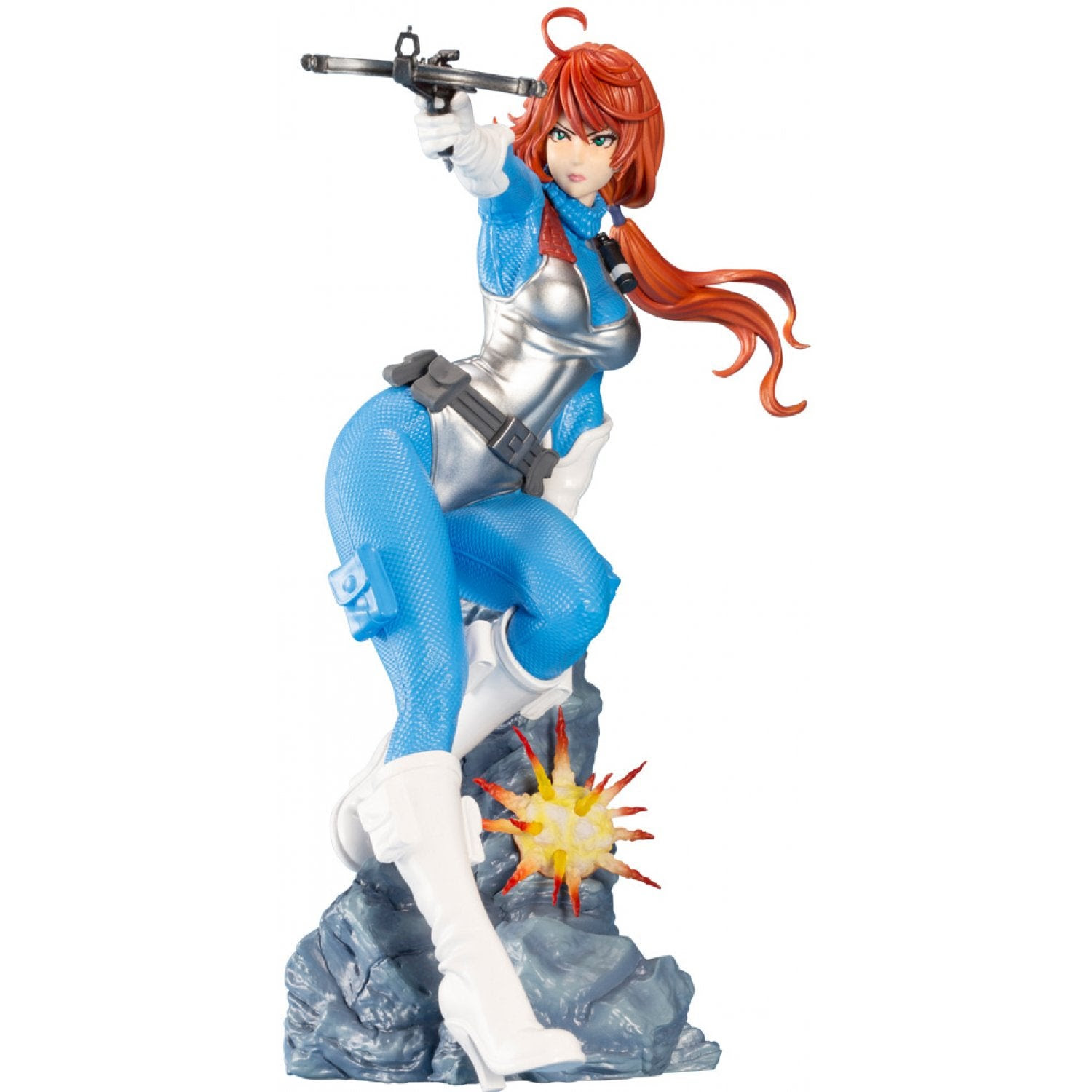 "Image of G.I. Joe Scarlett ""Sky Blue"" Edition Bishoujo 1:7 Scale Statue -JULY 2020"
