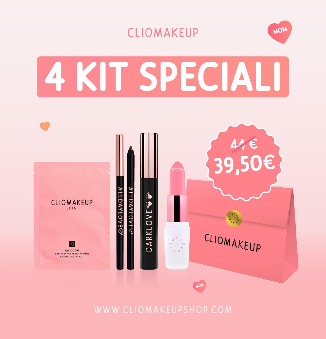 cliomakeup cliomakeupshop 4 kit speciali promo festa della mamma