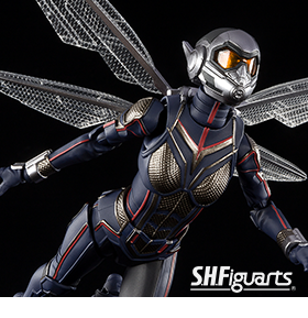 ANT-MAN & THE WASP S.H.FIGUARTS WASP & TAMASHII STAGE