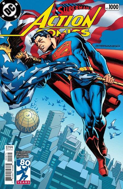 Action Comics _1000 by Paul Levitz and Jim Steranko