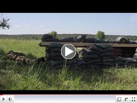 Ukrainian soldiers of the 1st Airmobile Battalion, 79th Air Assault Brigade conduct platoon assault training at the Yavoriv Combat Training Center on the International Peacekeeping and Security Center. Video: US Army Europe. To watch video please click on above image