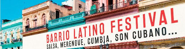 Barrio latino Festival . Salsa, merengue, cumbia, son Cubano