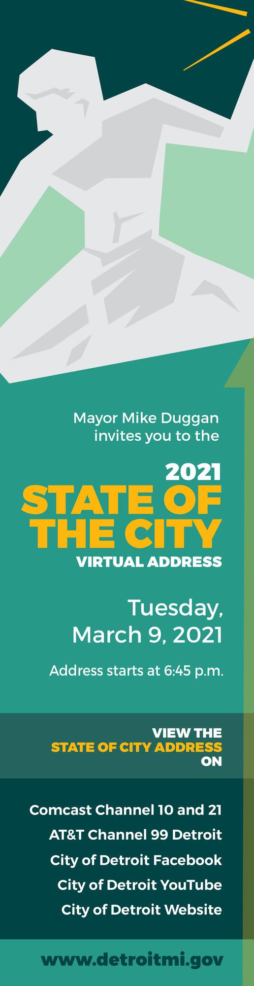 Mayor's 2021 State of the City Address