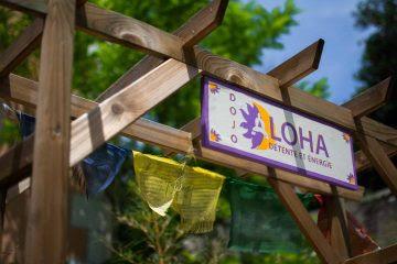 Entrée du Dojo Aloha à Aix en Provence