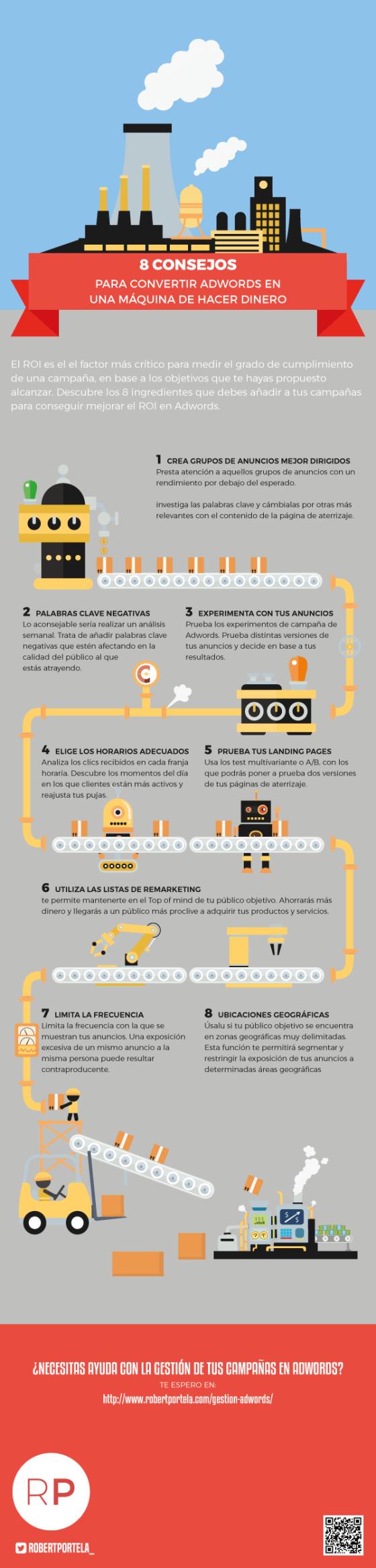 8 consejos para convertir AdWords en una máquina de hacer dinero