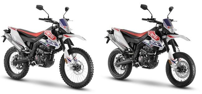 アプリリアの本格派125ccオフローダー『RX 125』とモタード『SX 125』が新グラフィックを採用した2021年EURO 5モデルを発売