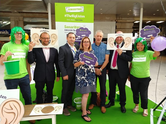 Rail industry joins forces to back 'The Big Listen' at Waterloo