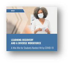 Learning Recovery and a Diverse Workforce graphic