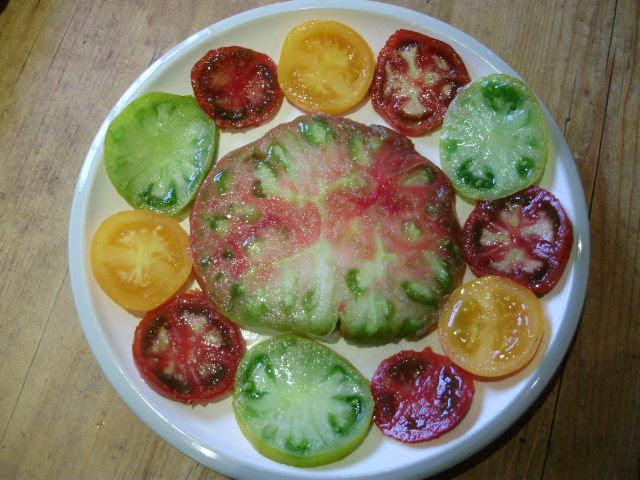 Tomato art!