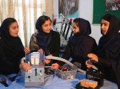 Robotics experts show prototype of lifesaving ventilator, Herat, Afghanistan, April 15, 2020.