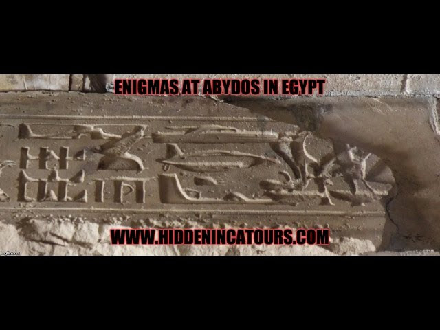 Abydos Temple: Evidence Of Helicopters And Other Ancient Machines In Egypt?  Sddefault