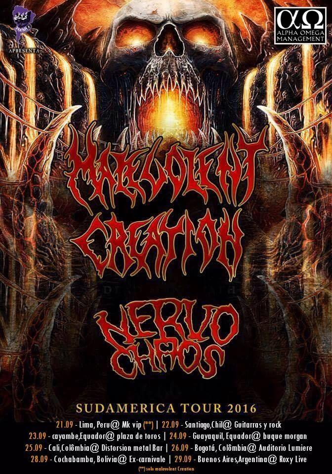 MALEVOLENT CREATION, NervoChaos