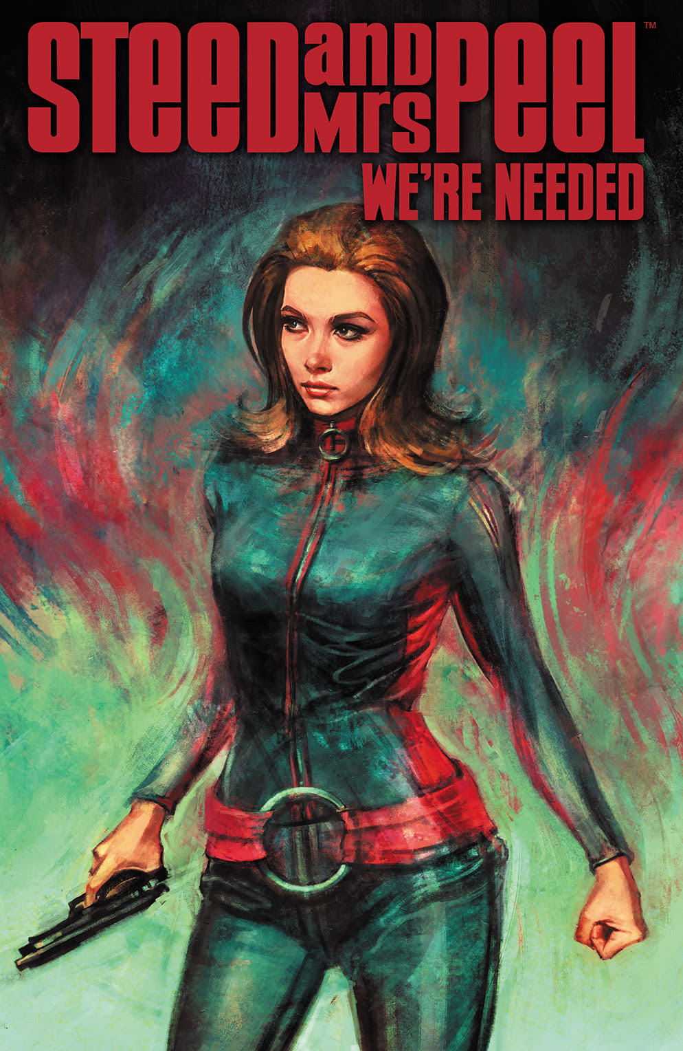 STEED AND MRS. PEEL: WE'RE NEEDED #2 Cover by Alice X. Zhang