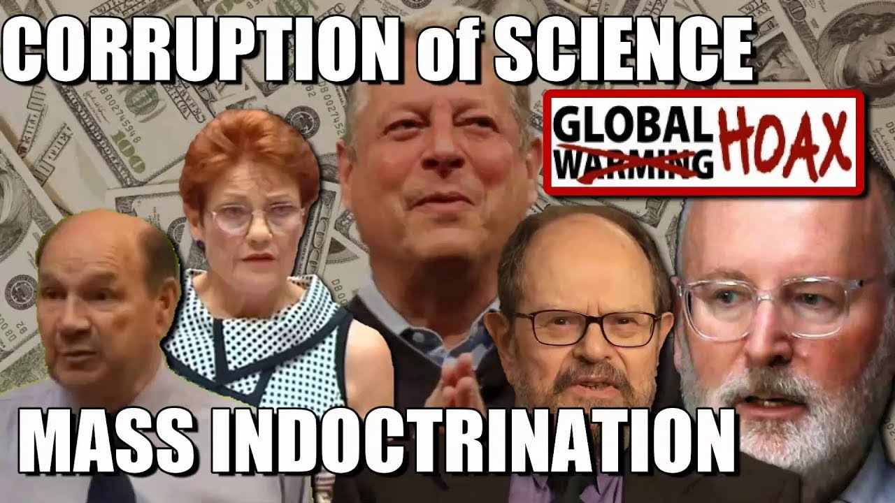 Climate Change Mass Indoctrination - Corruption of Science 2020 88pCPh3apf