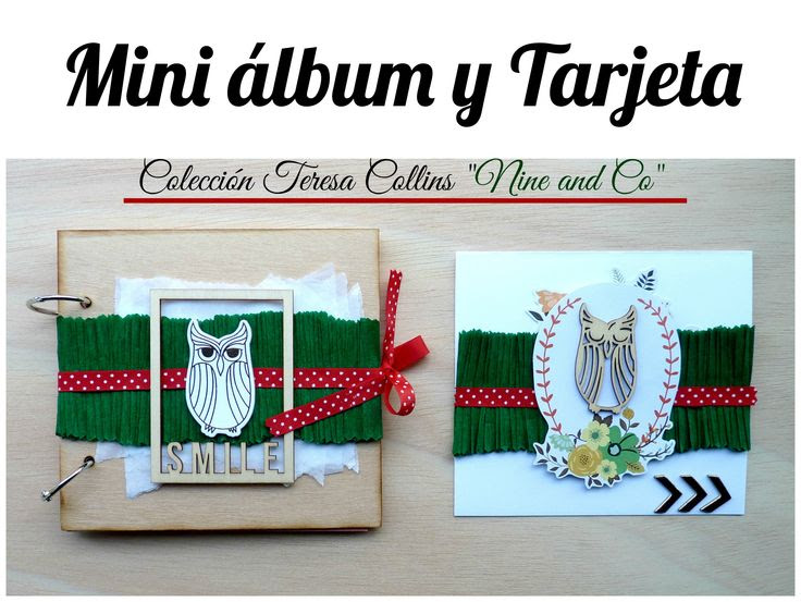 album y tarjeta