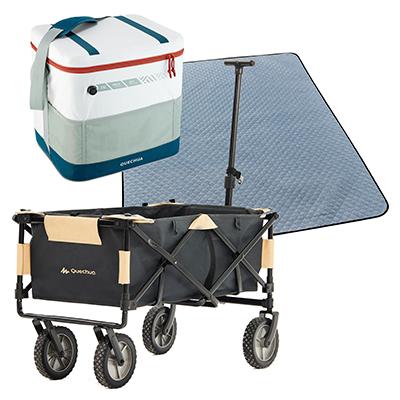Folding Camp Trolley (Max 50 Kg) Bundle