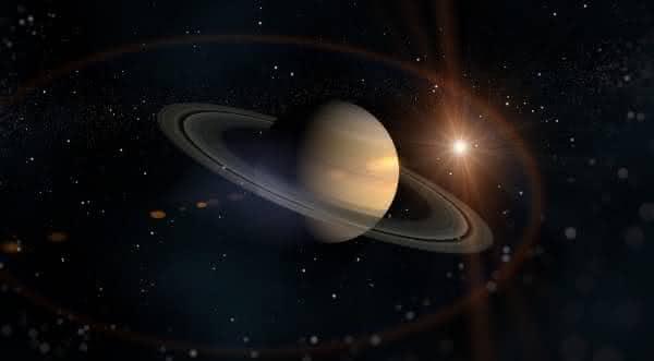 saturno entre os maiores planetas