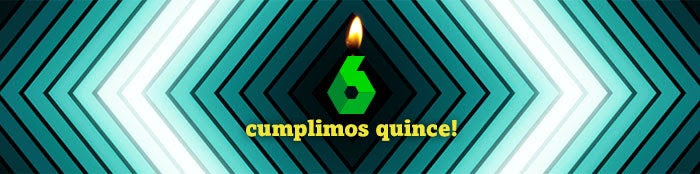 CUMPLIMOS 15!