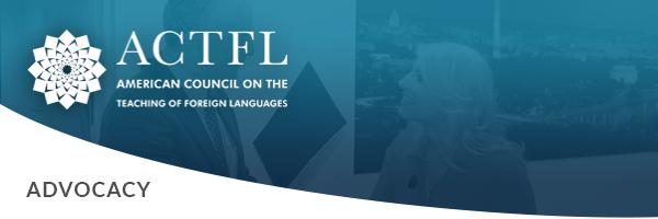 ACTFL Advocacy