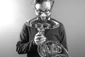 Luke Norland and his french horn