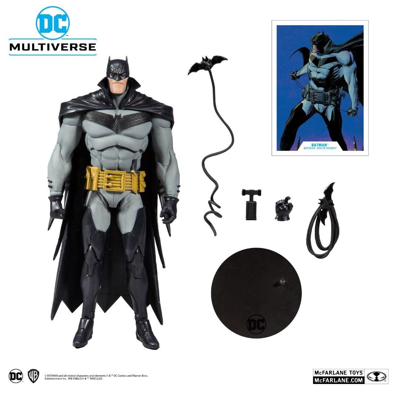 Image of DC Multiverse Batman White Knight Batman 7-Inch Action Figure - JUNE 2020