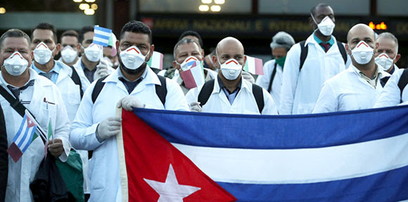 Help Cuba fight COVID-19 and the US                               blockade