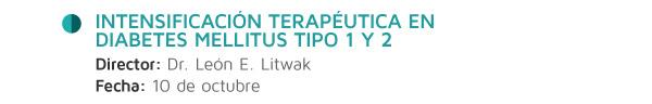 Intensificación Terapéutica en Diabetes Mellitus tipo 1 y 2