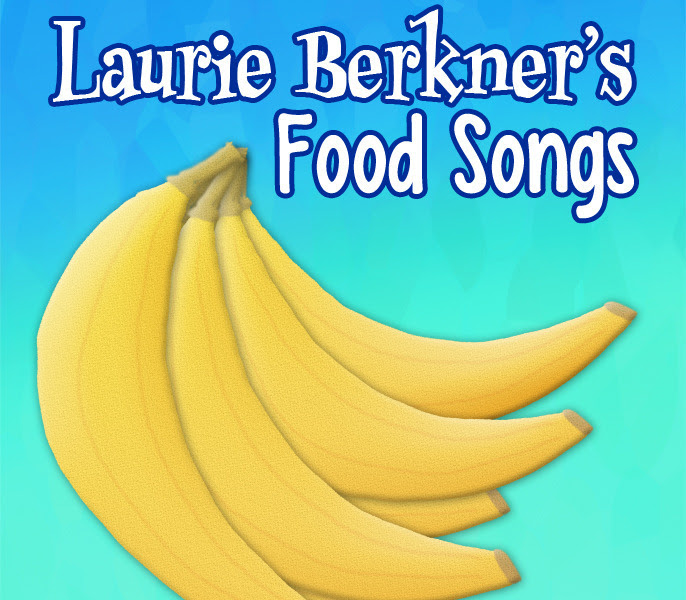 Laurie Berkner s Food Songs Cover Art RGB