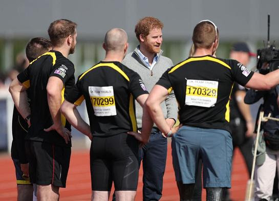 Prince Harry visits the University of Bath