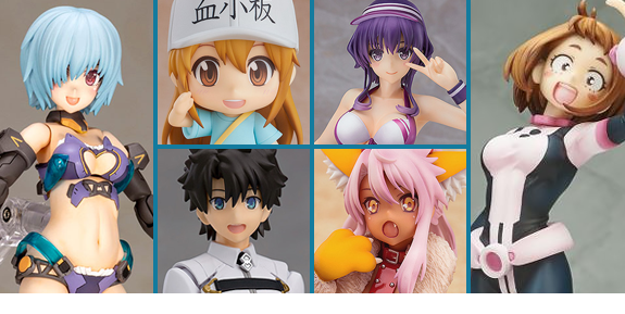 NEW JAPANESE FIGURES, STATUES, & COLLECTIBLES