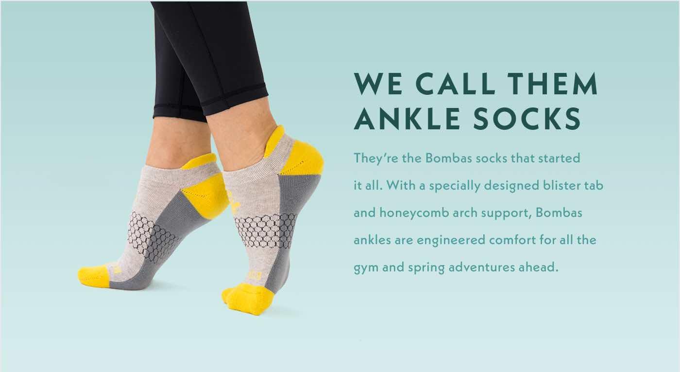 We call them ankle socks.