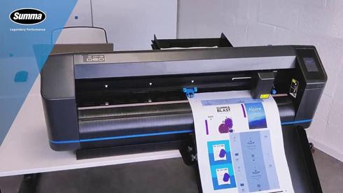 Summa launches A3 sheet feeder for cutting plotter
