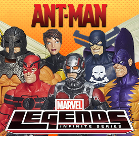 Ant-Man & New Marvel Legends