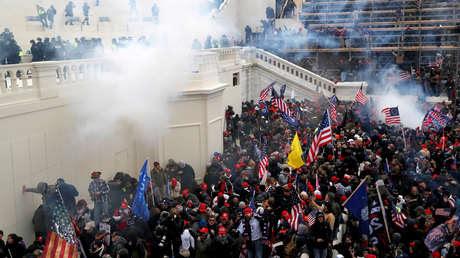Un exmilitar acusado por el asalto al Capitolio formó parte de un escuadrón de Marines cercano al presidente
