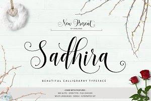 Sadhira - Calligraphy Typeface