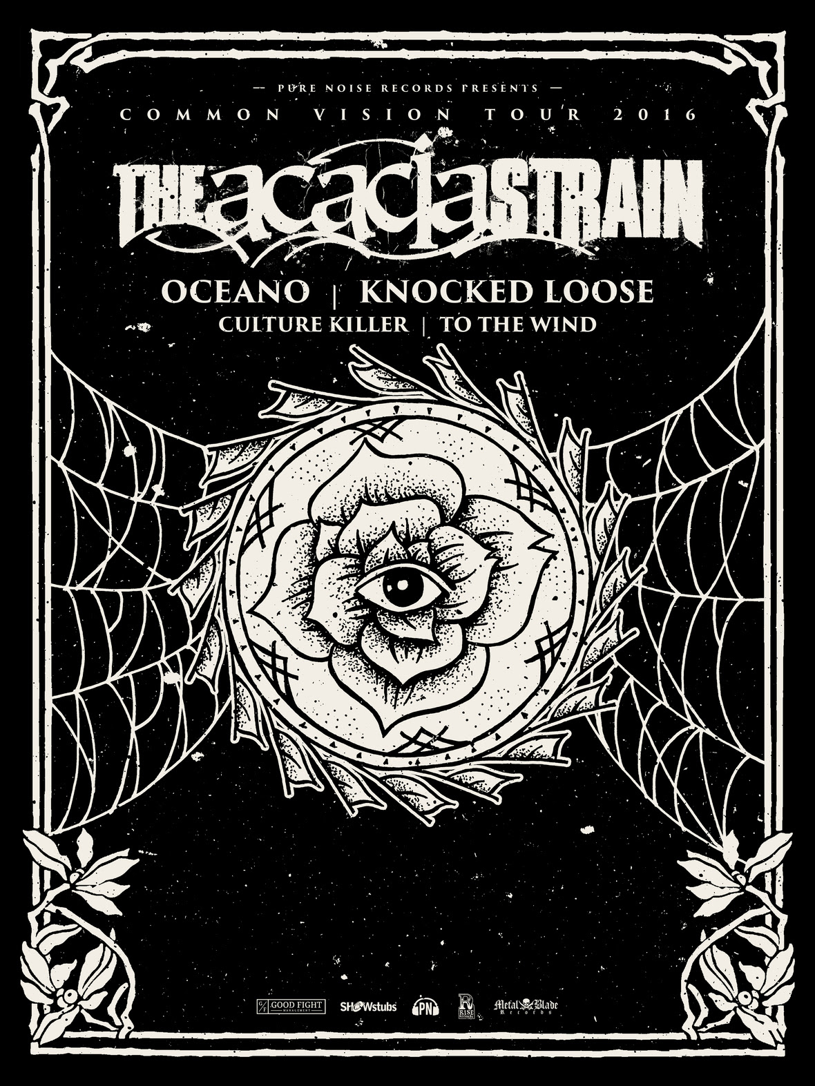 the acacia strain the common vision tour