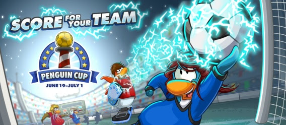 Join Club Penguin`s Penguin Cup Party June 19-July 1st!
