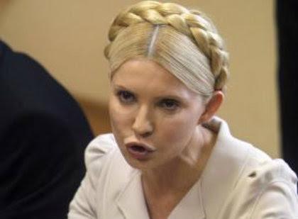 La supuesta revolucionaria Yulia Timoshenko