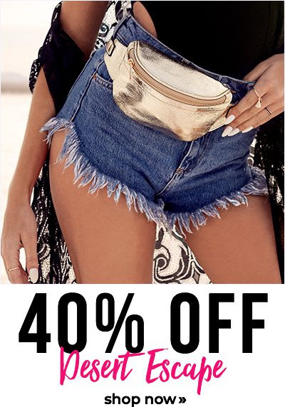 40% off desert escape