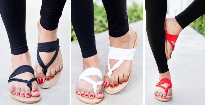 Yoga Style Slingback Sandals