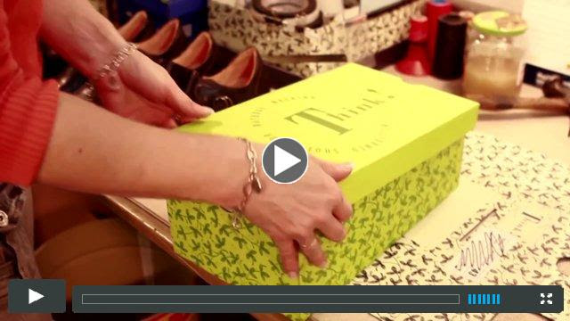 The birth of a shoe by Think! Shoes