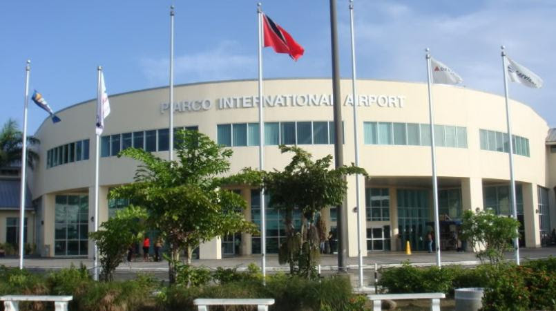 Image result for chaos at piarco airport